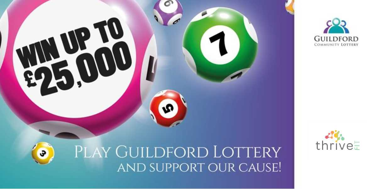 Guildford lottery thrivefit charity ticket