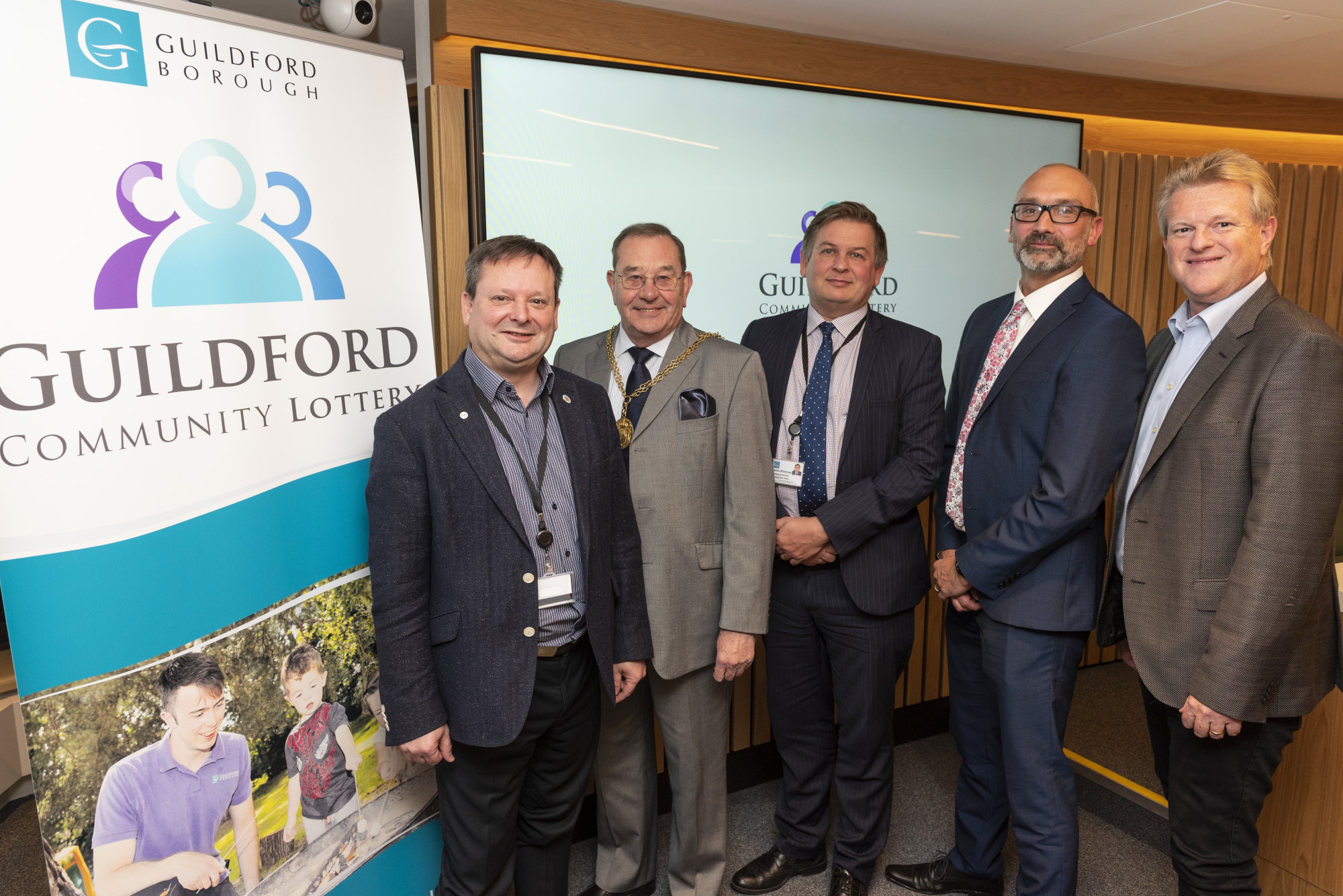 Good Causes set to benefit from Guildford Community Lottery