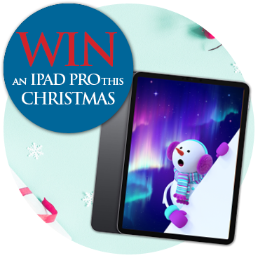 Win an iPad Pro this Christmas!